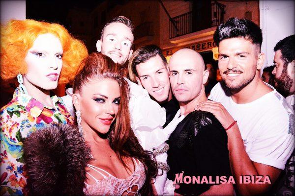 Bar Monalisa Ibiza Julio 2014